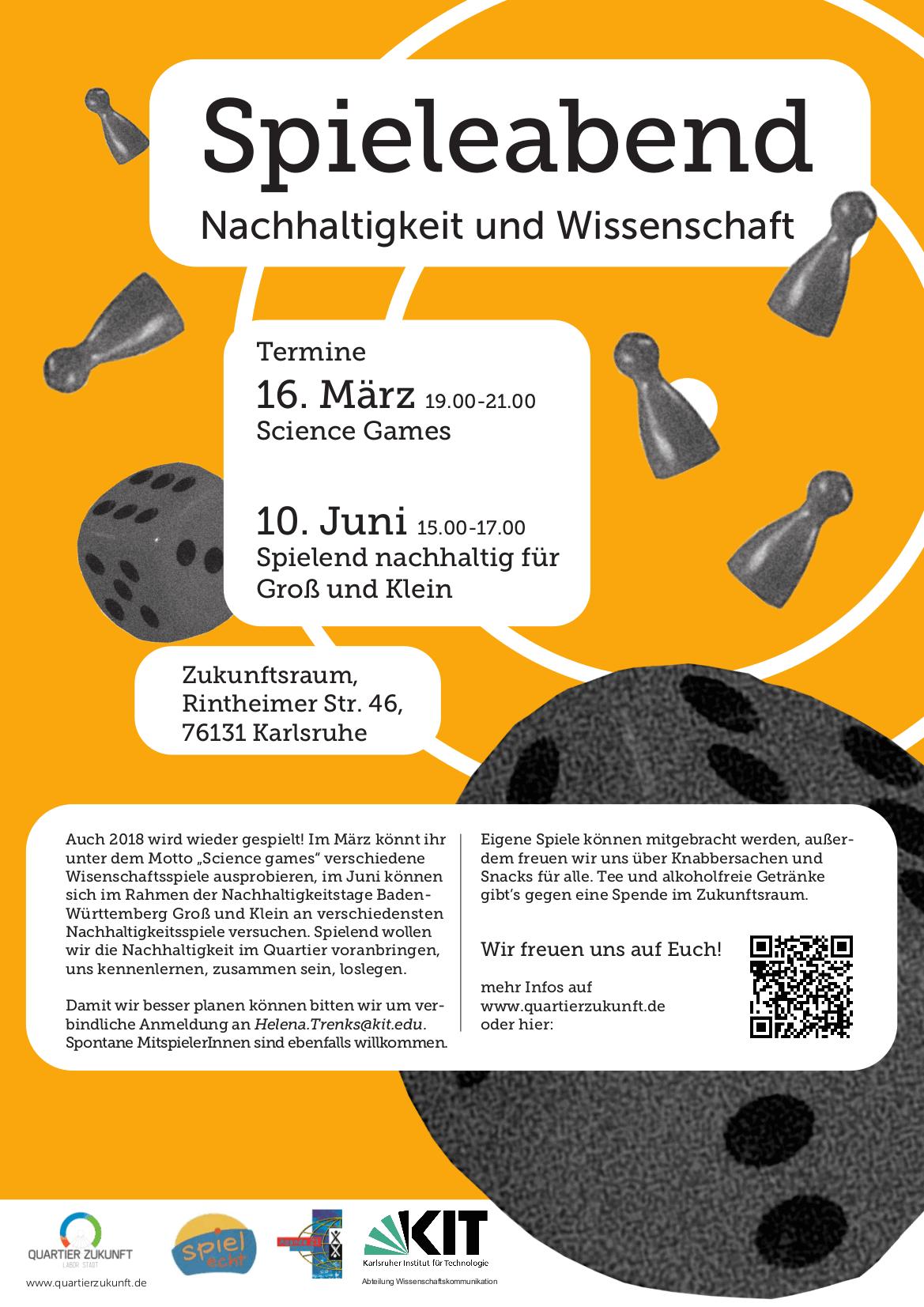"""Spieleabend """"Science Games"""" im Karlsruher Zukunftsraum – spielecht ..."""